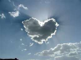 heart cloud love