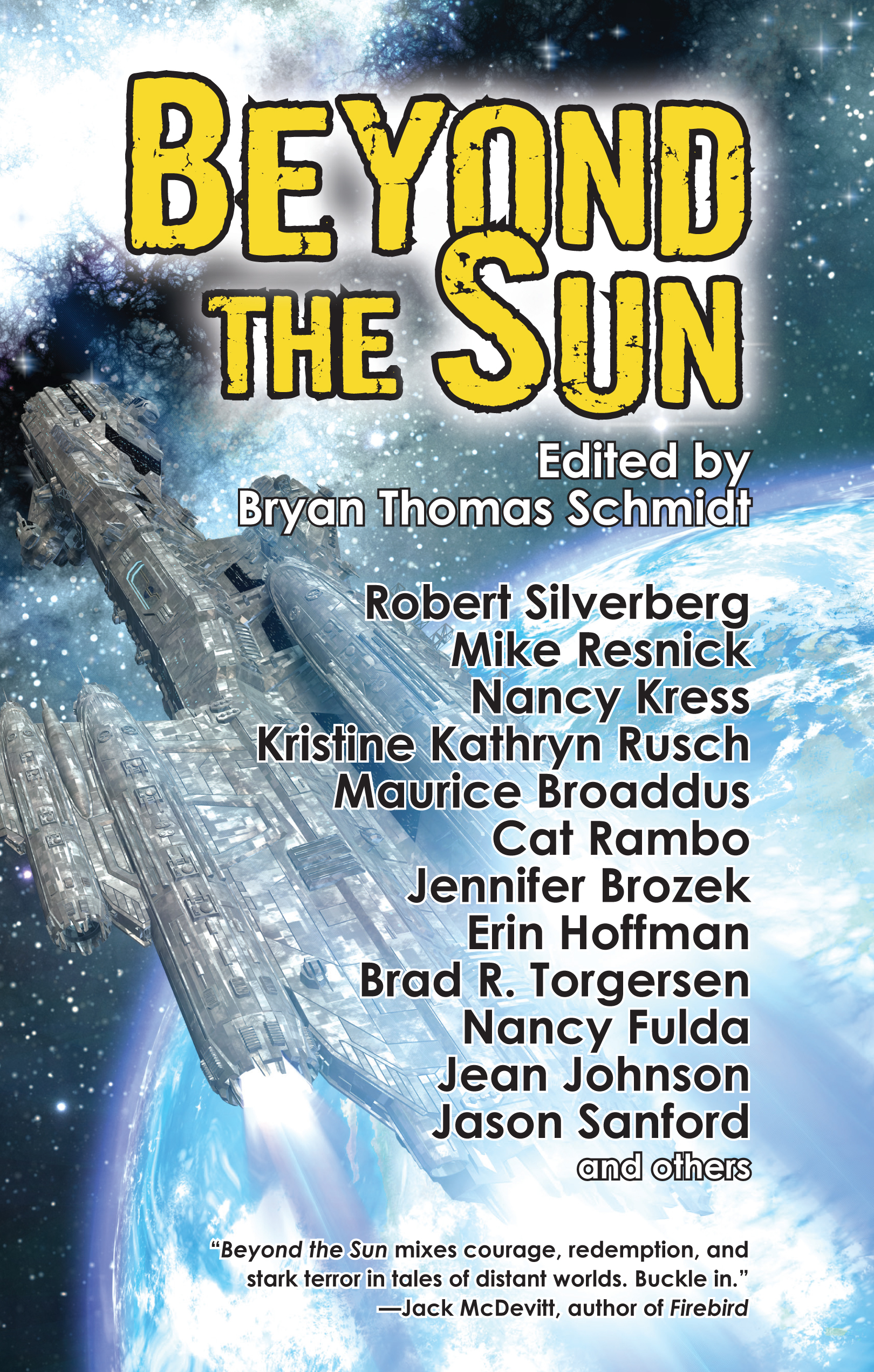 Beyond the Sun edited by Bryan Thomas Schmidt - front cover