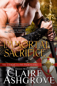 Immortal Sacrifice (Curse of the Templars) by Claire Ashgrove