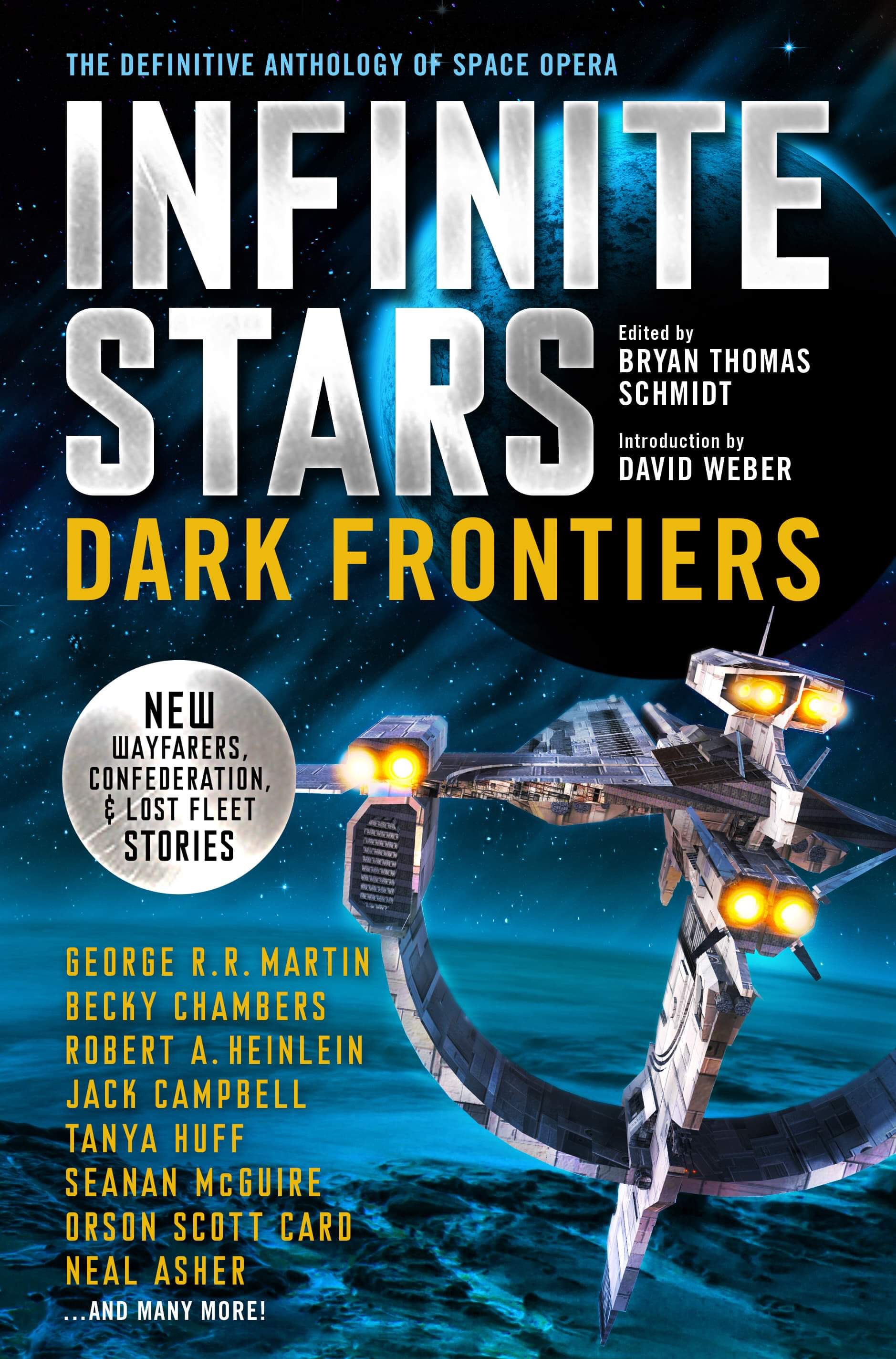 Infinite Stars: Dark Frontiers by Bryan Thomas Schmidt