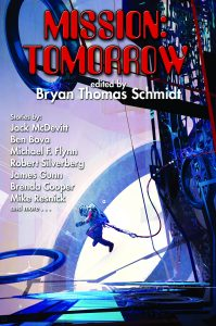Mission Tomorrow edited by Bryan Thomas Schmidt - front cover from Baen Books