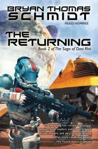 The Returning by Bryan Thomas Schmidt - front cover from WordFire Press